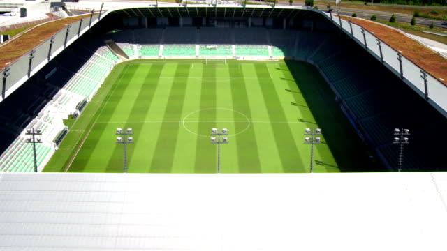 vídeos y material grabado en eventos de stock de hd: estadio de fútbol - panorámica