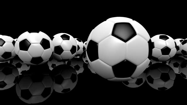 HD : Soccer-ball Animation with Alpha Matte.