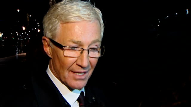 gay rights protesters at downing street and delivering petition to mcdonalds paul o'grady interview sot mcdonalds golden arches / gay rights... - paul o'grady stock-videos und b-roll-filmmaterial