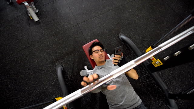 social media addiction at the gym - careless stock videos & royalty-free footage
