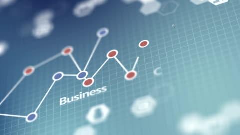 vídeos y material grabado en eventos de stock de los medios sociales, negocio gráfico infografía fondo - estrategia