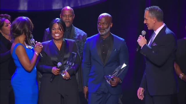 social media edit - 2016 bmi trailblazers of gospel music awards at rialto center for the arts on january 16, 2016 in atlanta, georgia. - ゴスペルミュージック点の映像素材/bロール