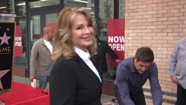 social media edit deidre hall honored with star on the hollywood walk of fame on march 29 2014 in los angeles california - deidre hall stock videos and b-roll footage