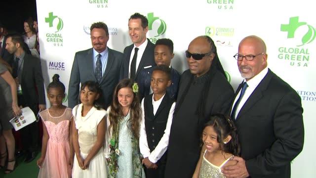 vídeos de stock, filmes e b-roll de social media edit global green usa 13th annual preoscar® party in los angeles ca - global green usa