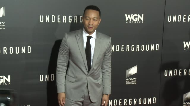 Social Media Edit WGN America's Underground Los Angeles Premiere at The Theatre At The Ace Hotel on March 02 2016 in Los Angeles California