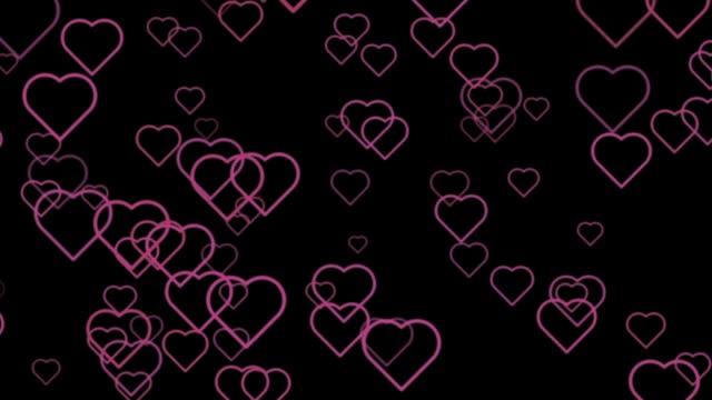 social media hearts - adulation stock videos & royalty-free footage