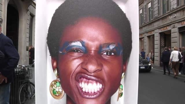 Social media is being credited with democratising fashion's global landscape but on Milan's swankiest shopping street where a free exhibition of...