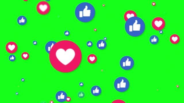 vídeos de stock, filmes e b-roll de 4k redes sociais como ícone de animação de fundo - social gathering