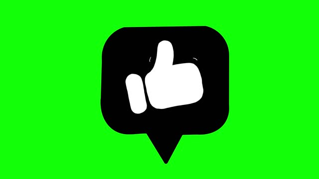 social media like symbol animation - social media icon stock videos & royalty-free footage