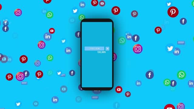 vídeos de stock e filmes b-roll de social media network, comments and likes - conselho
