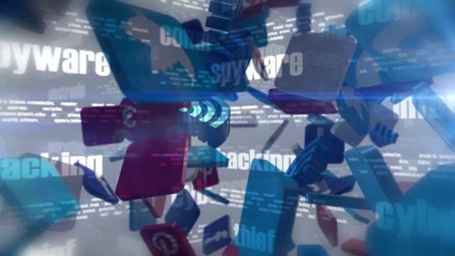 vídeos de stock, filmes e b-roll de mídia social relacionado palavras 3d em loop - brincadeira de pegar