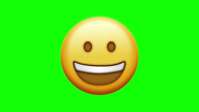 social media smile icon, chroma key, series - social issues stock videos & royalty-free footage