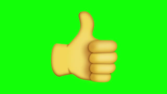 social media thumb up icon, chroma key - thumbs up stock videos & royalty-free footage