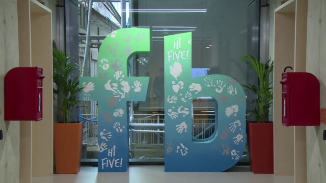 social media titan facebook opened a new office in london on monday that is its biggest engineering hub outside america the company has announced - titan moon stock videos & royalty-free footage