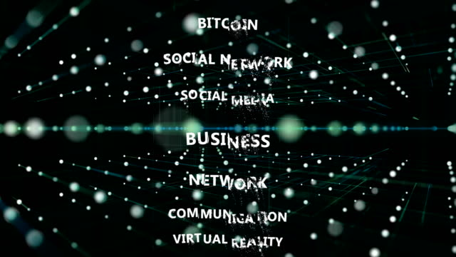 social network, social media, marketing, internet concept. - multimedia stock videos & royalty-free footage