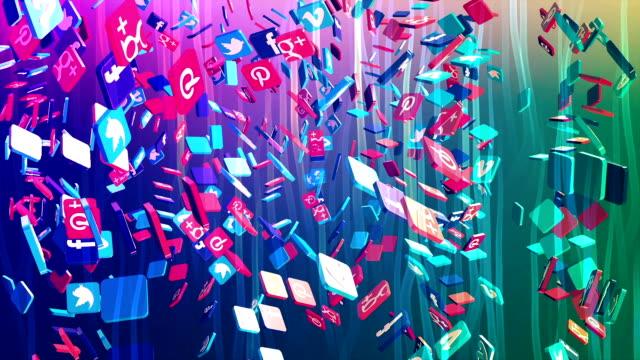 Social Network, social media, marketing, internet concept.