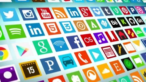 vídeos y material grabado en eventos de stock de red social, las redes sociales, el marketing - formulario de solicitud