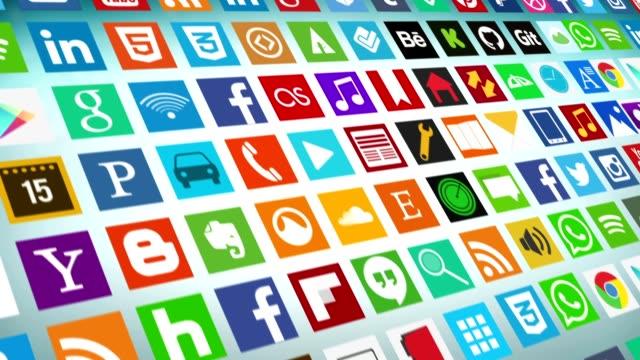 vídeos de stock, filmes e b-roll de rede social, mídias sociais e marketing - formulário de aplicação