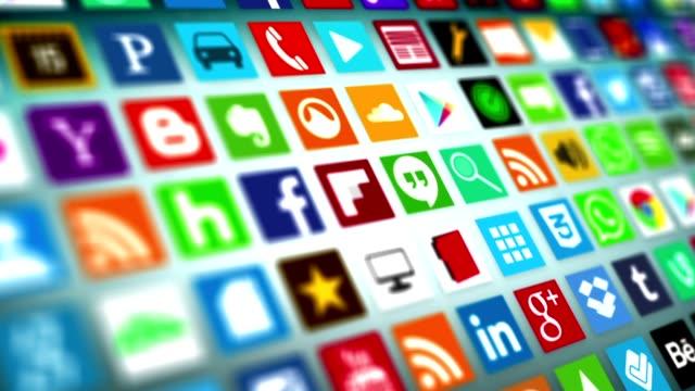 stockvideo's en b-roll-footage met social network, social media, marketing - sociaal netwerk