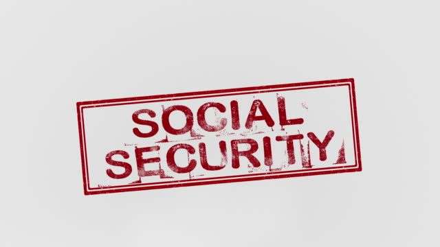 social security - social security stock videos & royalty-free footage