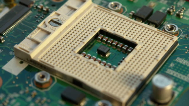 socket 478 is a pin grid array socket for intel microprocessors. intel is one of the world's largest manufacturers of microprocessors and... - 中央演算処理装置点の映像素材/bロール