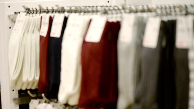 Socks on Shelve In Store