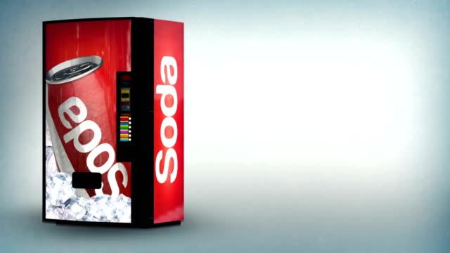 soda vending machine - soda stock videos & royalty-free footage