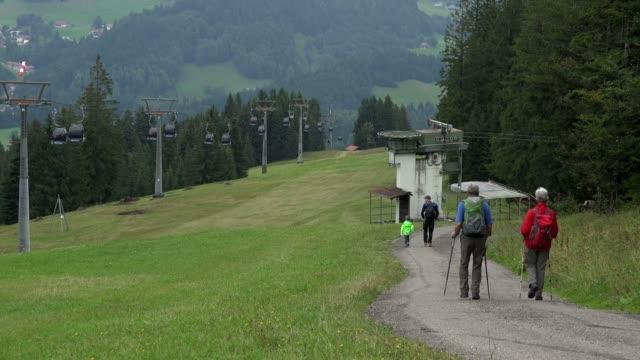 Soellereck Cable Car near Oberstdorf, Allg?u, Swabia, Bavaria, Germany