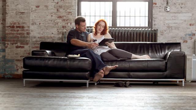 Sofa Home Couple