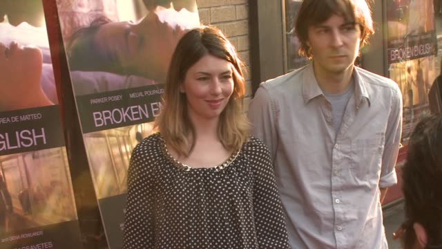 Sofia Coppola at the 'Broken English' New York Premiere at Landmark Sunshine Cinema in New York New York on June 18 2007