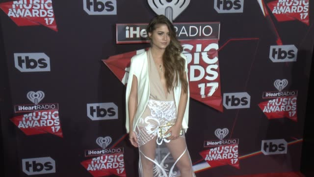Sofia Reyes at the 2017 iHeartRadio Music Awards at The Forum on March 05 2017 in Inglewood California