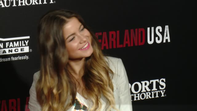 "sofia reyes at the ""mcfarland, usa"" los angeles premiere at the el capitan theatre on february 09, 2015 in hollywood, california. - el capitan theatre stock videos & royalty-free footage"
