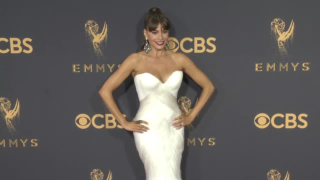Sofia Vergara at the 69th Annual Primetime Emmy Awards at Microsoft Theater on September 17 2017 in Los Angeles California