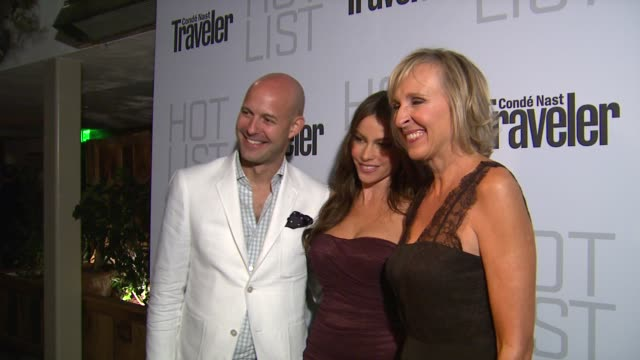 Sofia Vergara at the Conde Nast Traveler Hot List Party at West Hollywood CA