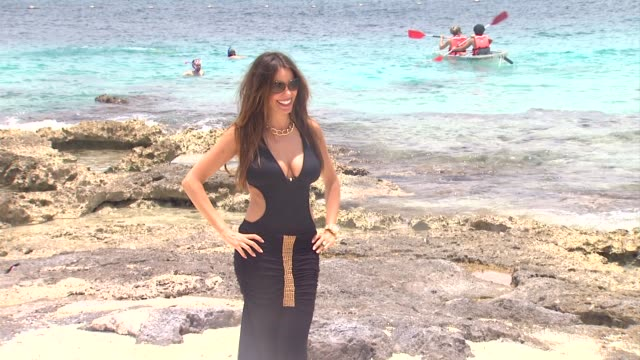 sofia vergara celebrates her 40th birthday in cozumel mexico 07/06/12 - cozumel stock videos and b-roll footage