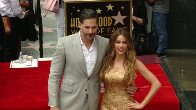 stockvideo's en b-roll-footage met sofia vergara honored with star on the hollywood walk of fame at hollywood walk of fame on may 07, 2015 in hollywood, california. - respect