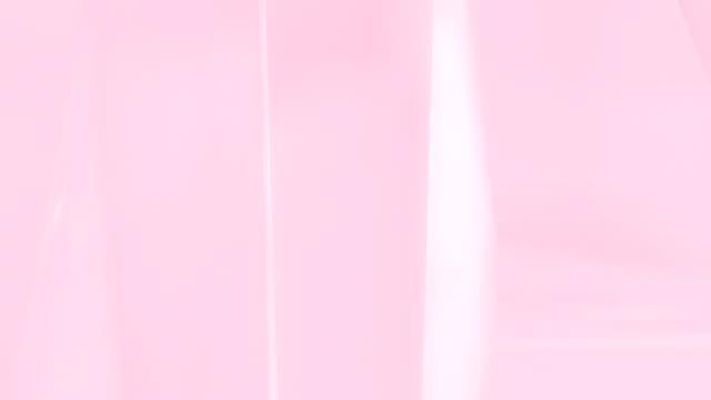 単発 4 k ソフトの抽象的な背景 - ピンク色点の映像素材/bロール