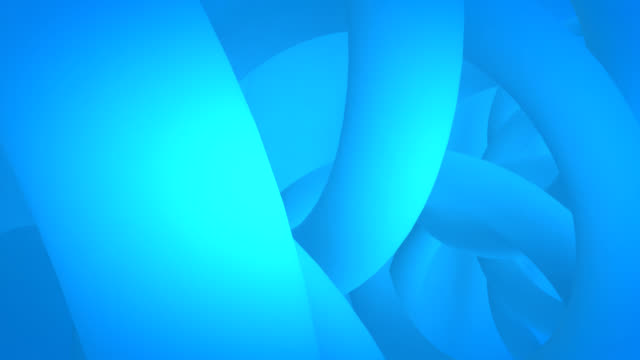soft blue curves abstraction(loop) hd animation - curve stock videos and b-roll footage