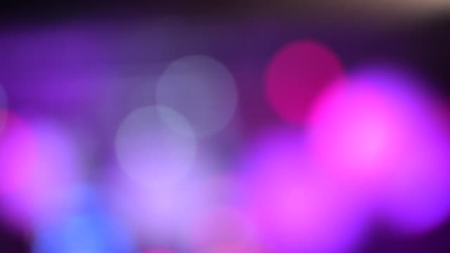 soft bokeh - theatrical performance stock videos & royalty-free footage