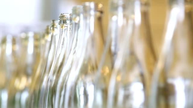 soft drink bottling line close-up - fizzy lemonade stock videos & royalty-free footage