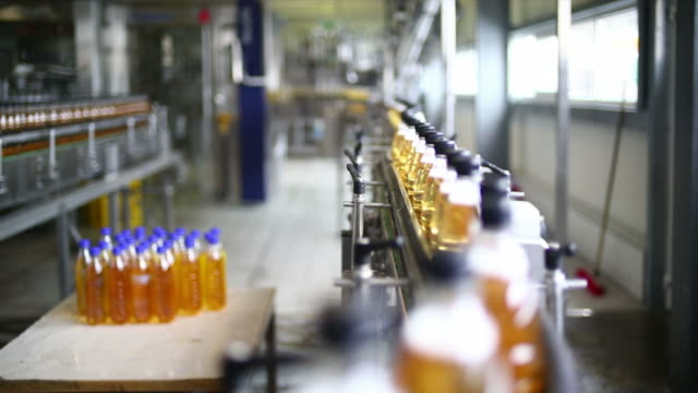 soft drink bottling line - packet stock videos & royalty-free footage