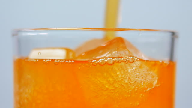 soft drink orange juice - refreshment stock videos and b-roll footage