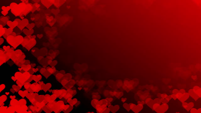 soft heart background (loopable) - faded condition stock videos & royalty-free footage