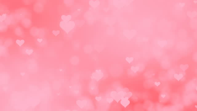 4k soft heart background (loopable) - dreamlike stock videos & royalty-free footage