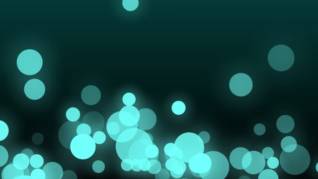 soft moving particles -turquoise 4k video - translucent stock videos & royalty-free footage