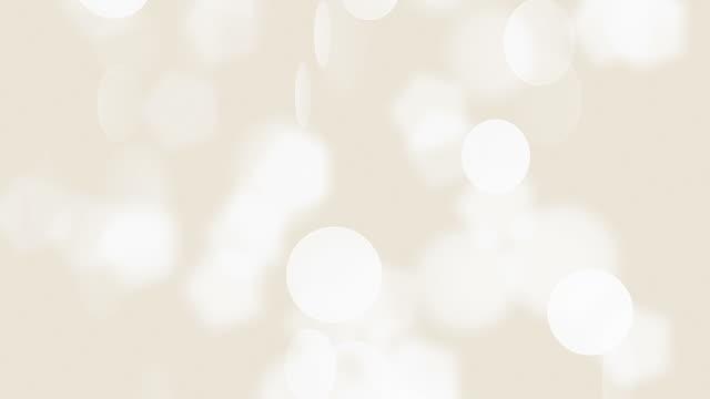 vídeos de stock, filmes e b-roll de suaves partículas (circulares) - soft focus