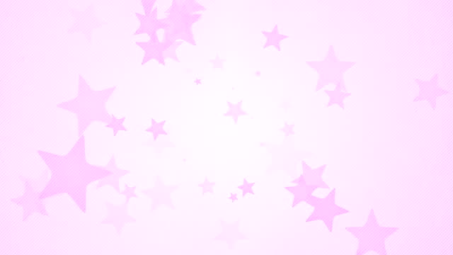soft simple stars background loops x3 - pink (full hd) - textured stock videos & royalty-free footage