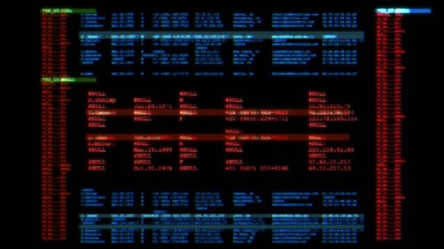 Software developer programming code on computer screen