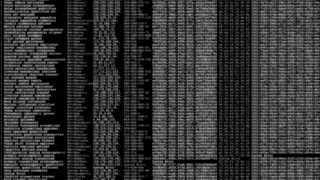 ソフトウェア開発者プログラミング コード テクノロジ - ハッカー点の映像素材/bロール