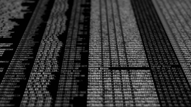 software developer programming code technology - byte stock videos & royalty-free footage